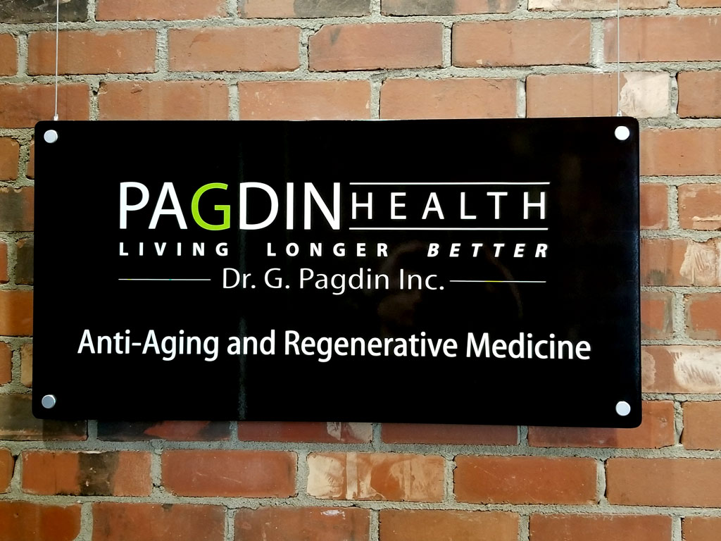 Pagdin Health Clinic Sign