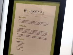 Pagdin Health Mission Statement