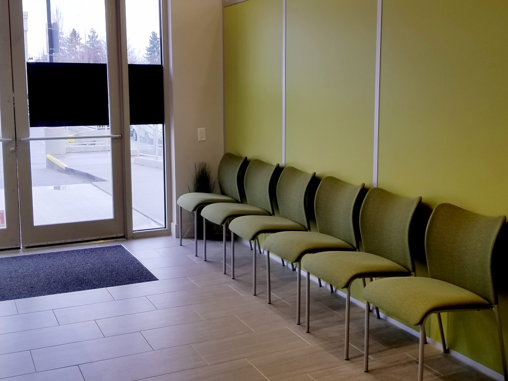 Pagdin Health Waiting Area